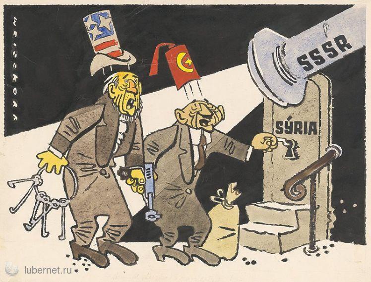 Фотография: Карикатура. Словакия, 1958г, пользователя: rindex
