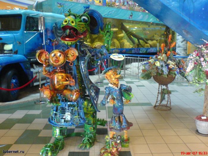Фотография: Крокодил Гена и друзья из деталей машин, пользователя: rindex