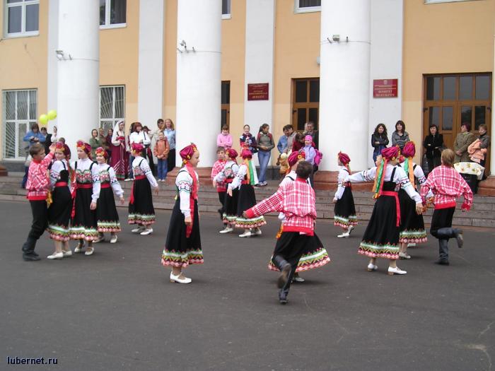 Фотография: Русские народные танцы у Люберецкого ДК, пользователя: rindex