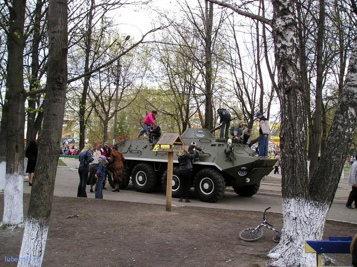 Фотография: 9 мая 2006г БТР2, пользователя: rindex