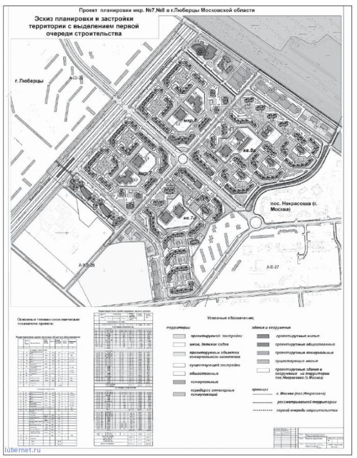 Фотография: План застройки поля в Северной части Люберец!, пользователя: rindex