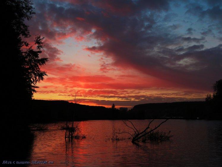 Фотография: карьер, закат, пользователя: Лёха с вышки
