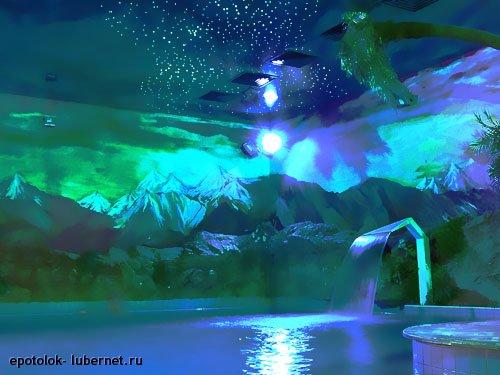 Фотография: Натяжной потолок (звездное небо).jpg, пользователя: epotolok