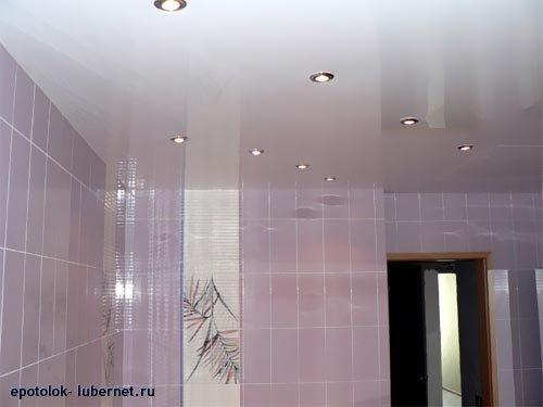 Фотография: Натяжной потолок в ванной комнате.jpg, пользователя: epotolok