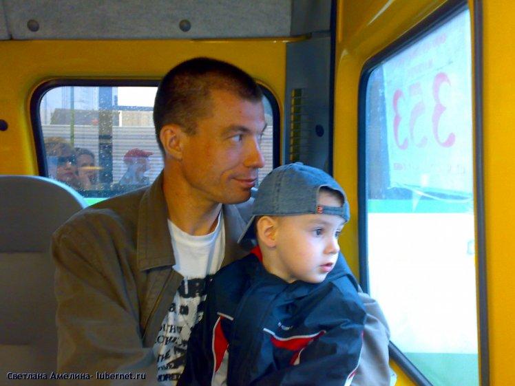 Фотография: двое в маршрутке, пользователя: Cветлана Амелина