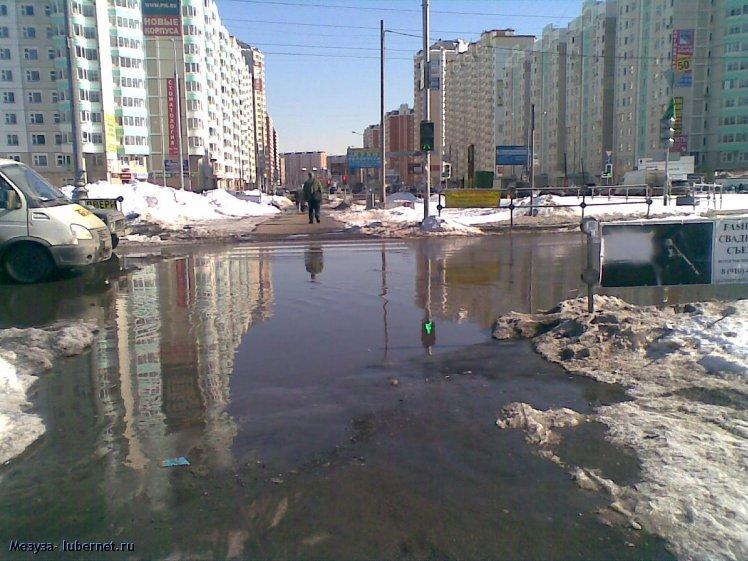 Фотография: Пешеходный переход на Комсомольском проспекте. , пользователя: Mezuza