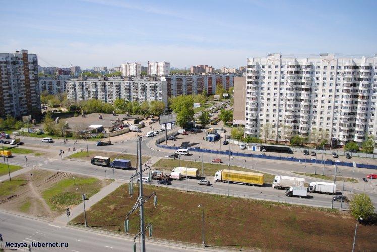 Фотография: Комосольский проспект - парковка для большегрузных машин. , пользователя: Mezuza