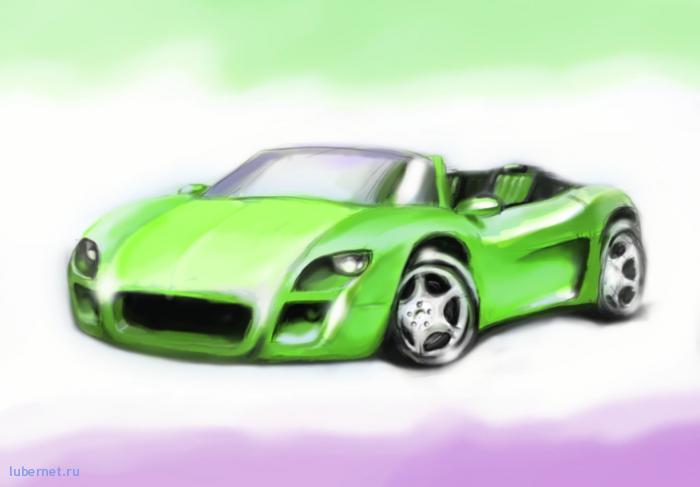 Фотография: Зелёный роадстер, пользователя: gazzz