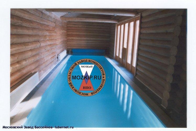 Фотография: фото переливного полимерного бассейна в бане.jpg, пользователя: Московский Завод Бассейнов
