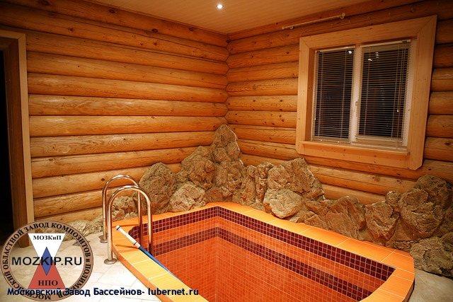 Фотография: Баня с мини бассейном купелью фото.jpg, пользователя: Московский Завод Бассейнов