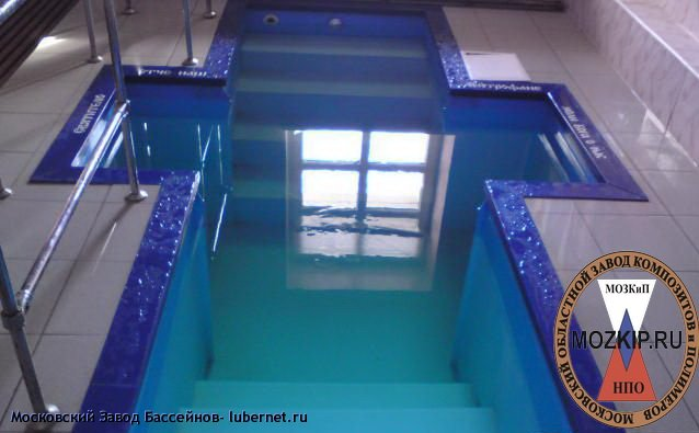 Фотография: купель для крещения в церкви из полимера с римским входом фото.jpg, пользователя: Московский Завод Бассейнов
