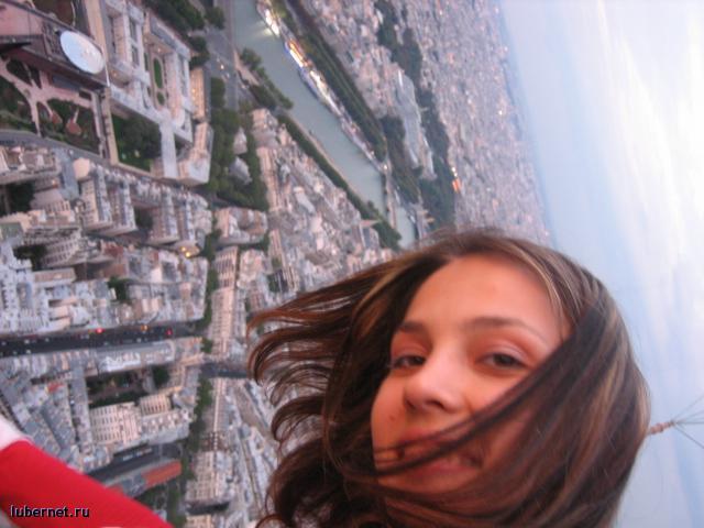 Фотография: это я на эйфелевой башне, пользователя: Люсенька