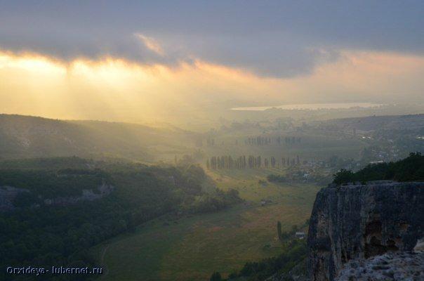 Фотография: Закат после дождя.jpg, пользователя: Orxideya