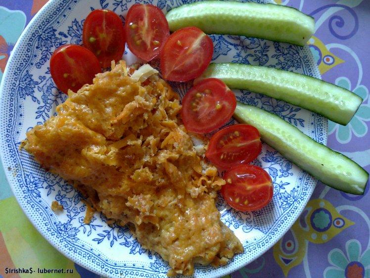 Фотография: Запеченная рыба под морковной шубкой.jpg, пользователя: $Irishka$