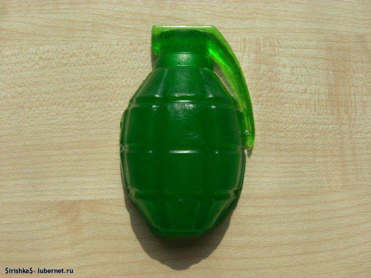 """Фотография: Мыло """"Лимонка"""" с запахом мужской туалетной воды Hugo Boss.JPG, пользователя: $Irishka$"""