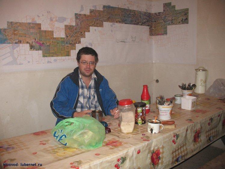Фотография: Зам. исполнителя работ на фоне картматериала заказчика))), пользователя: Nivovod
