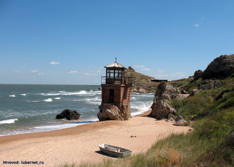 """Фотография: Крым. Пляж бывшего пансионата """"Новый свет"""", пользователя: Nivovod"""