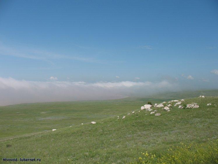 Фотография: Крым. г. Опук. Туман, пользователя: Nivovod