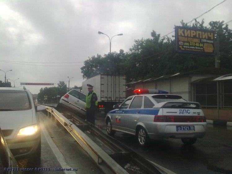 Фотография: ДТП на Октябрьском проспекте 14.06.11, пользователя:  &#9733 winner &#9733
