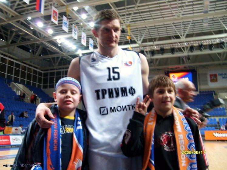 Фотография: С капитаном Триумфа Сергеем Топоровым, пользователя:  &#9733 winner &#9733