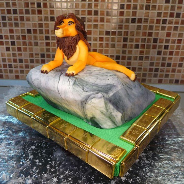 Фотография: Торт Король Лев, пользователя: rambaked
