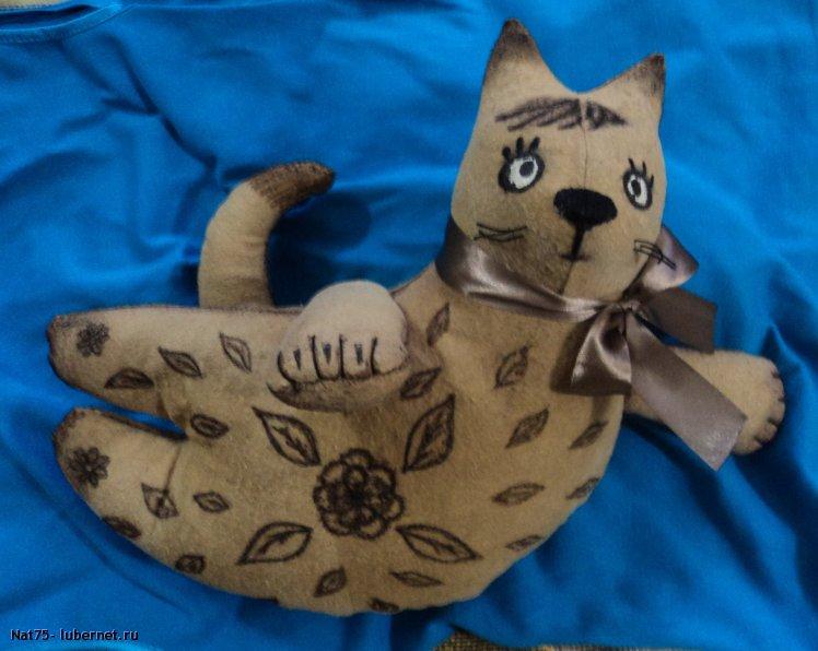 """Фотография: """"летящий"""" кофейный кот 1, пользователя: Nat75"""
