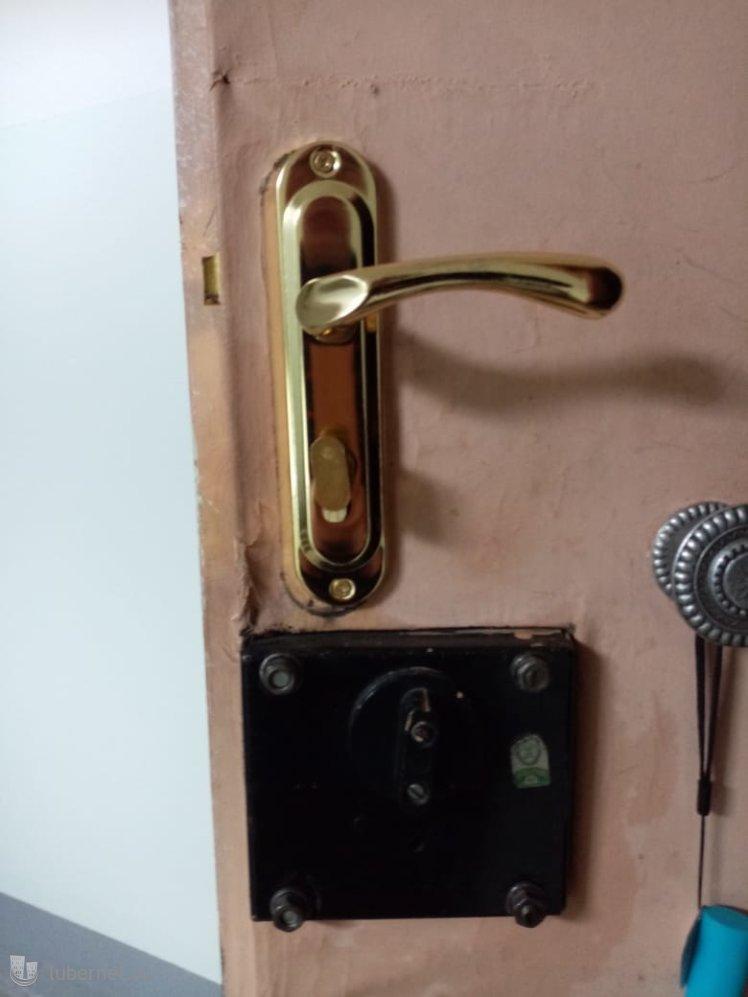 Фотография: Установка дверной ручки, пользователя: мастерзамков