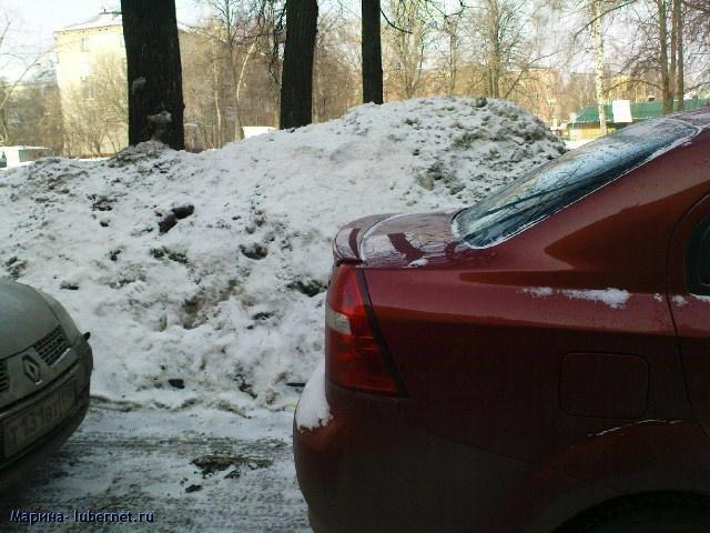 Фотография: Снег и лед у торгового центра 1.JPG, пользователя: Марина
