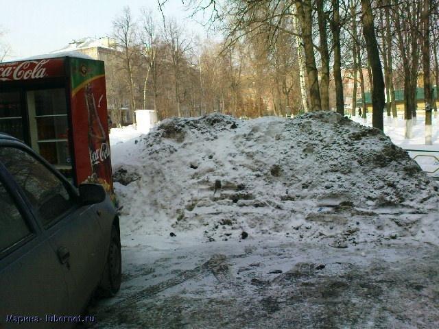 Фотография: Снег и лед у торгового центра 2.JPG, пользователя: Марина
