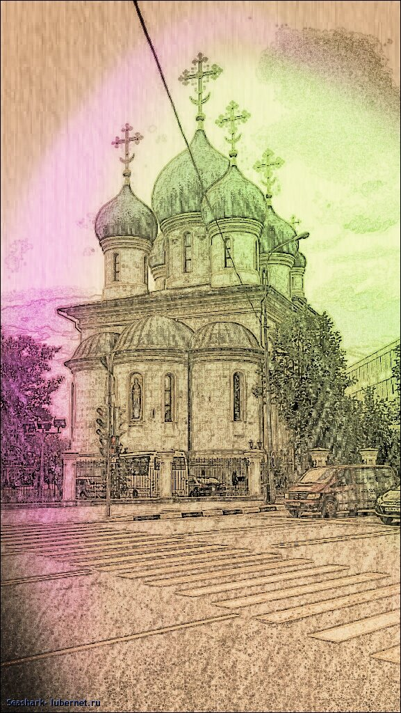 Фотография: Храм преп. Сергия Радонежского.jpg, пользователя: Seashark