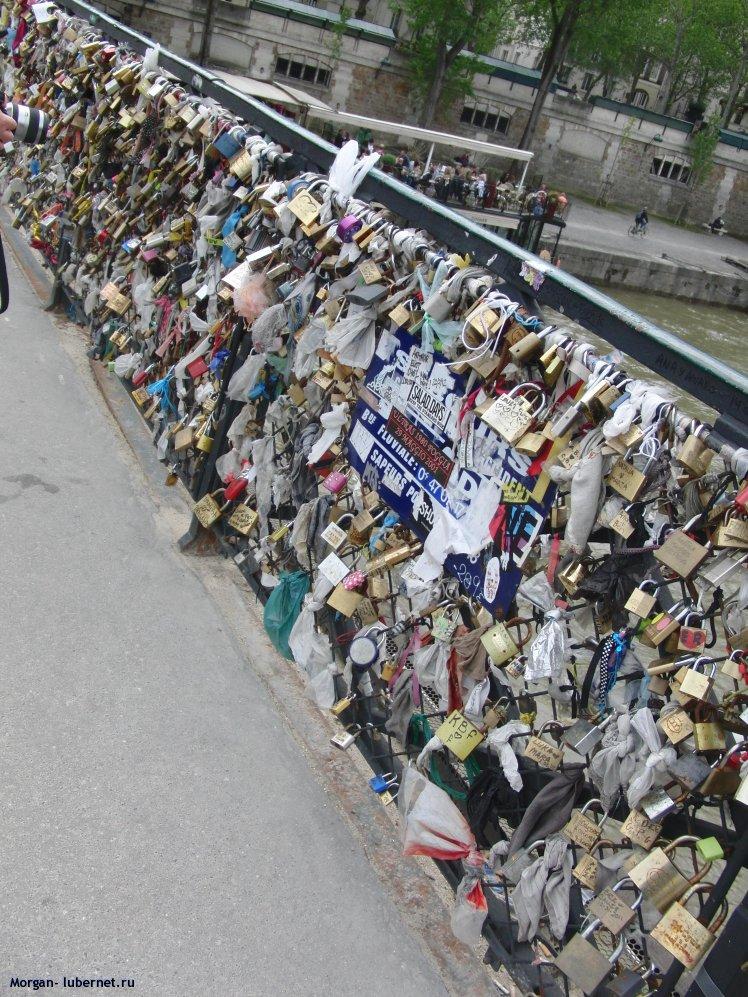 Фотография: Замочки на мосту, пользователя: Morgan