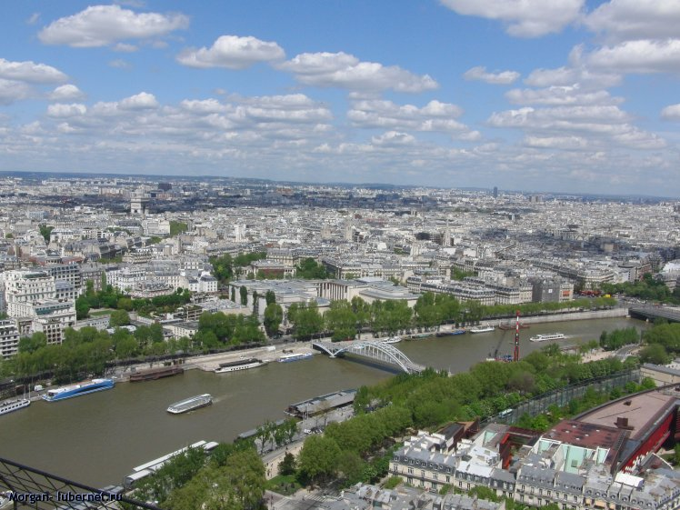 Фотография: Вид с Эйфелевой башни, пользователя: Morgan