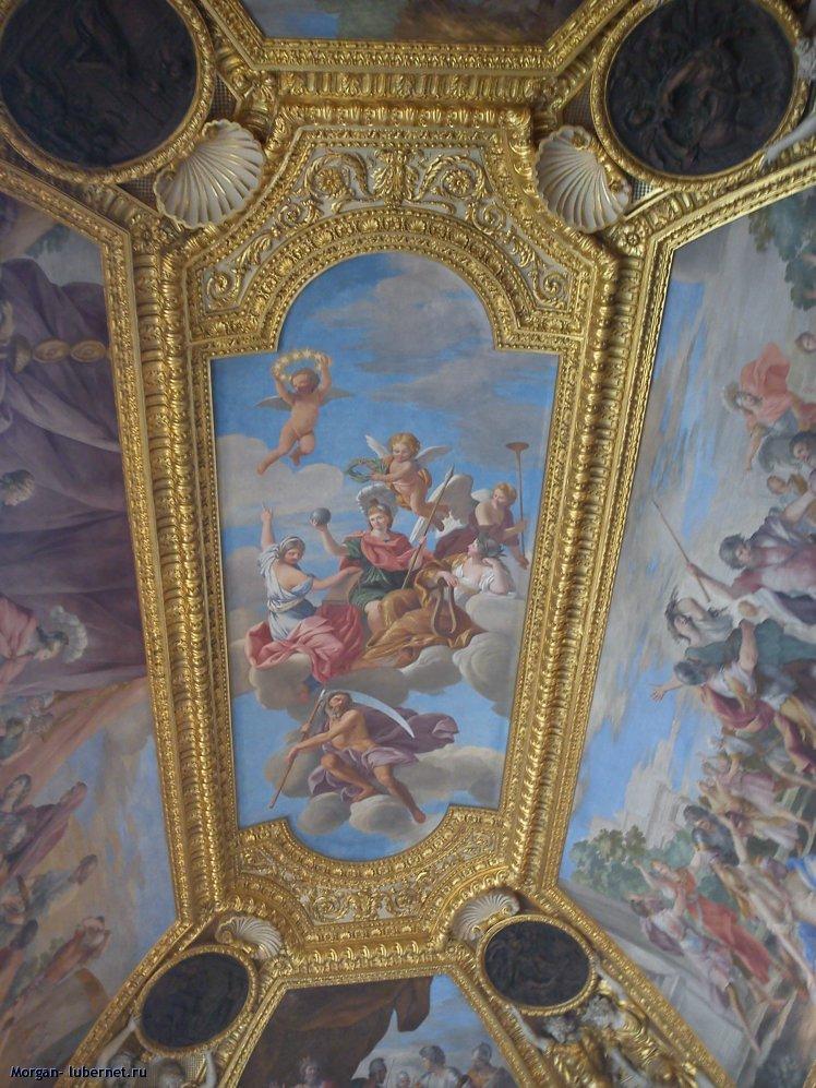 Фотография: Потолок в Лувре, пользователя: Morgan