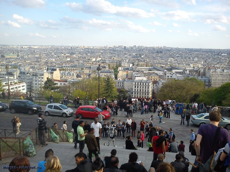 Фотография: Вид на Париж, пользователя: Morgan