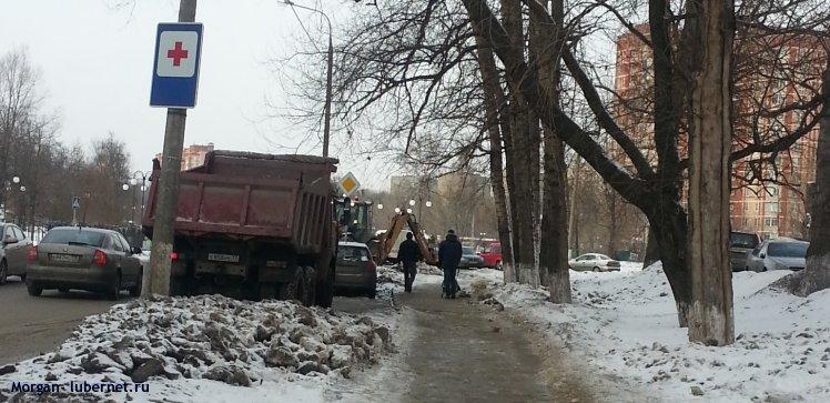 Фотография: Экскаватор и грузовик, пользователя: Morgan
