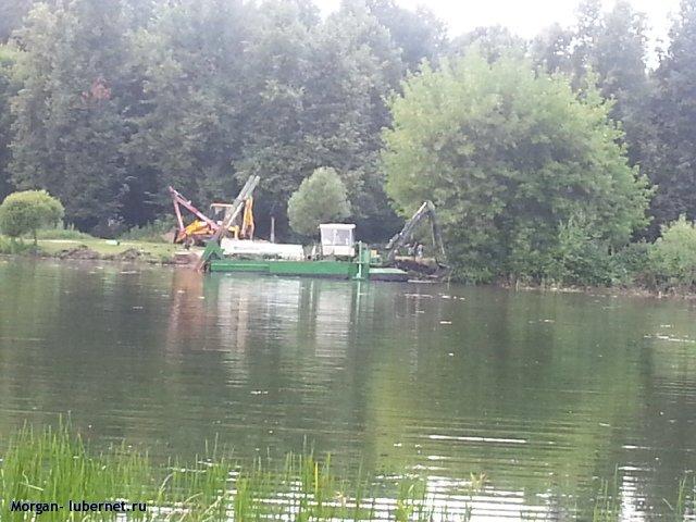 Фотография: Чистка прудов, пользователя: Morgan