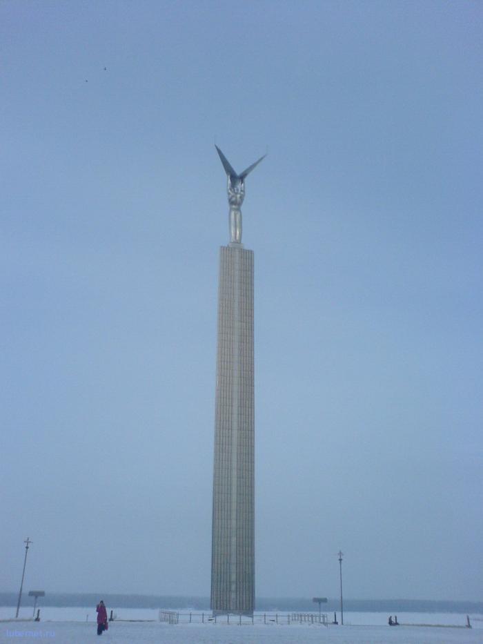 Фотография: Памятник... нет, не Гагарину=), пользователя: Morgan