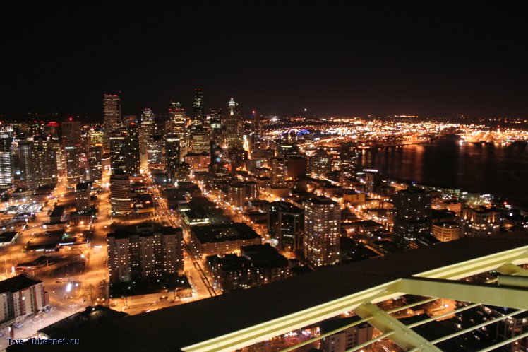 Фотография: Ночной Сиэтл, пользователя: Tais