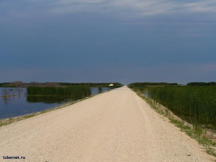Фотография: дорога меж двух озер, пользователя: Tais