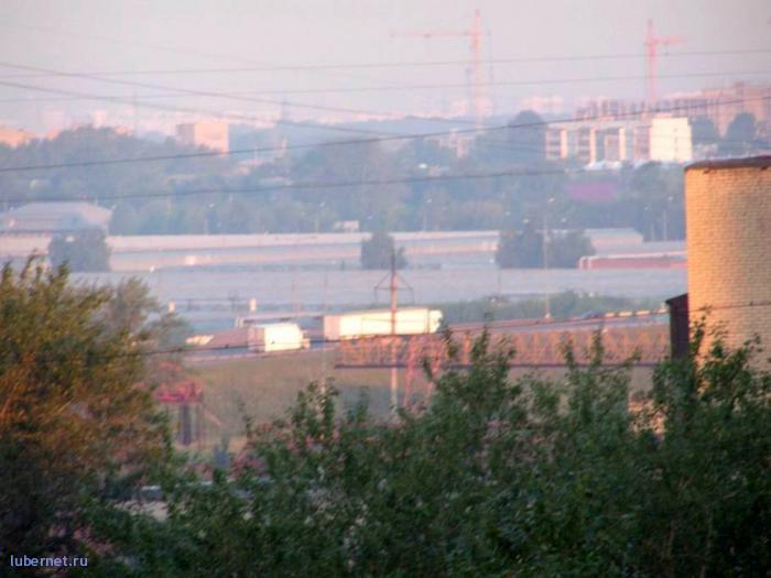 Фотография: Ковровый комбинат... Город Котельники! Вид из поселения Люберцы :-))), пользователя: 7fonia