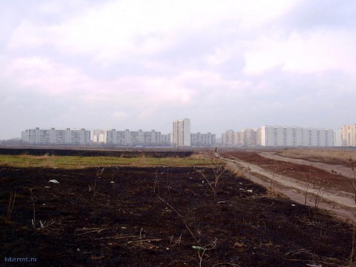 Фотография: Комсомольский пр-т вид с поля, пользователя: Flaw