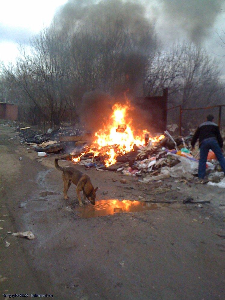 Фотография: 17.04.2011 - свалка по-прежнему горит (1), пользователя: SergeyKa2009