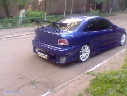 Фотография: Honda вид сзади, пользователя: Мишаня