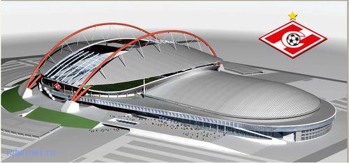 Фотография: Будущий стадион Спартака, пользователя: Мишаня