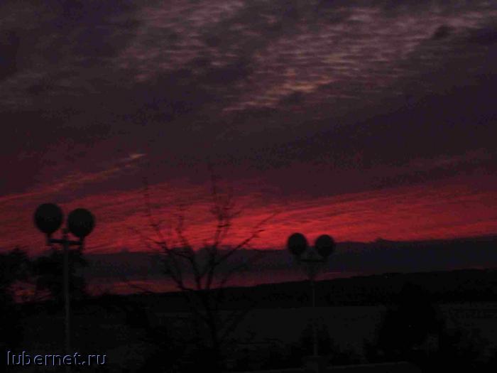 Фотография: закат, пользователя: lucky_cat