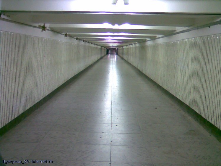 Фотография: День, когда люди исчезли. Переход в Люберцах..jpg, пользователя: Цукерман