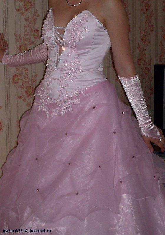 Фотография: Вечернее платье розовое.jpg, пользователя: marinok1310