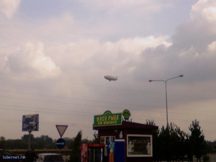 Фотография: Дирижабль над Новорязанкой, пользователя: Sandy