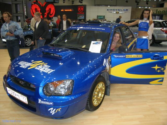 Фотография: Subaru Impreza, пользователя: Sandy