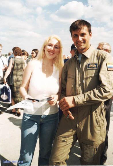 """Фотография: С лётчиком пилотажной группы """"Стрижи"""", пользователя: Sandy"""